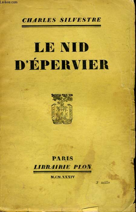 LE NID D'EPERVIER