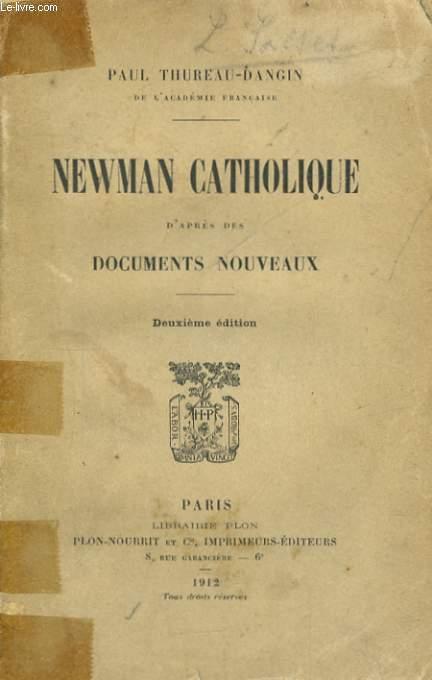 NEWMAN CATHOLIQUE