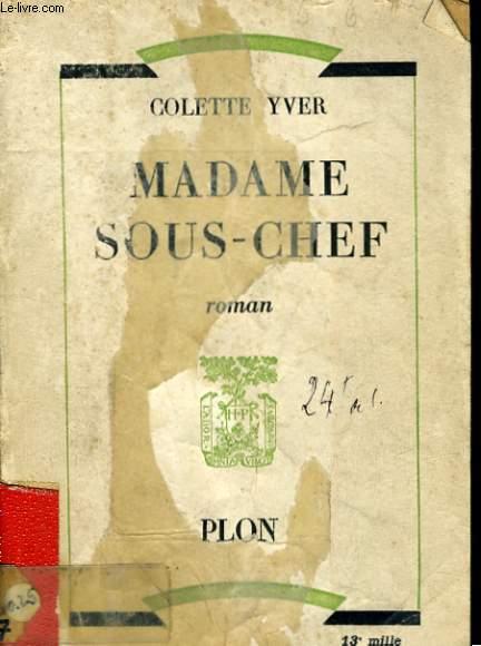 MADAME SOUS-CHEF