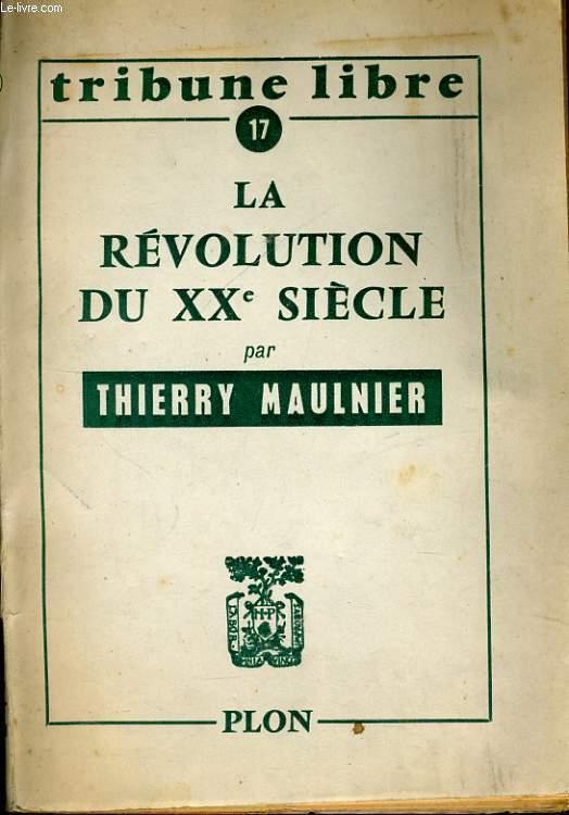 LA REVOLUTION DE XXè SIECLE