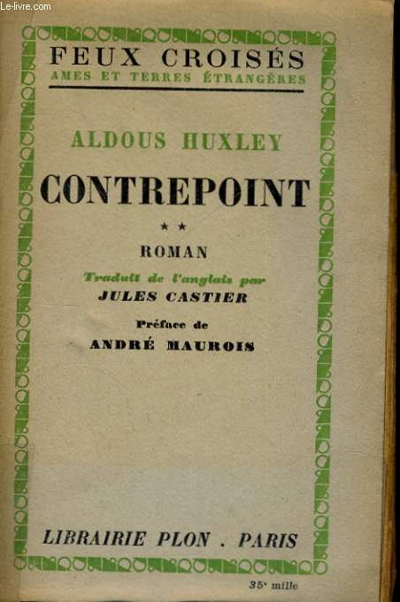 CONTREPOINT, TOME 2