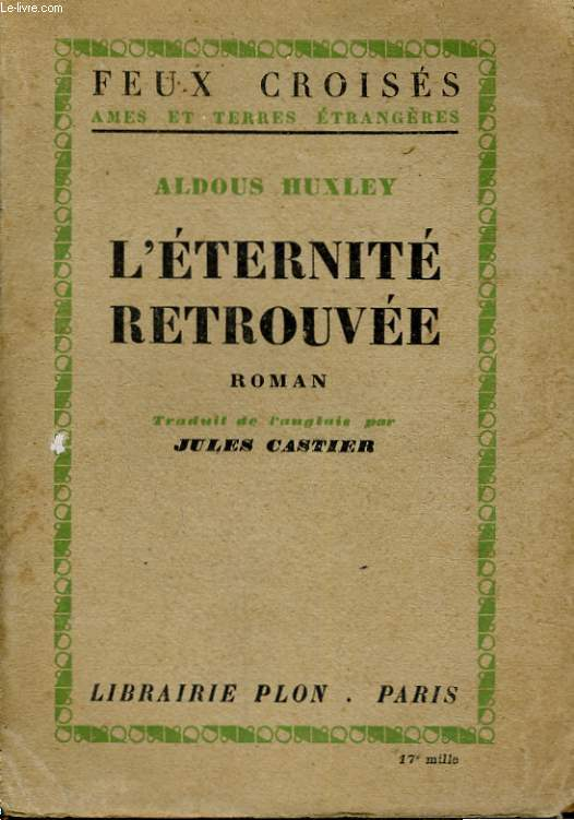 L'ETERNITE RETROUVEE