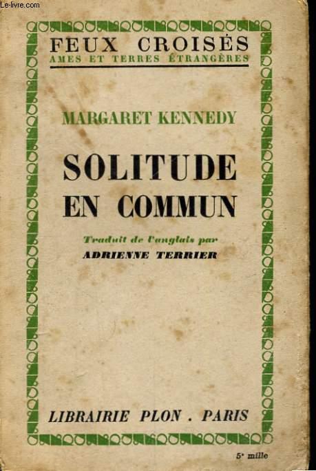 SOLITUDE EN COMMUN
