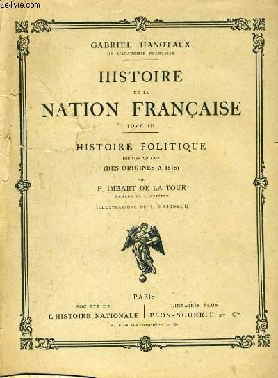 HISTOIRE DE LA NATION FRANCAISE, COMPLET EN 15 VOLUMES