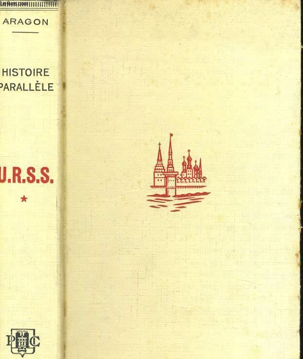 HISTOIRE DE L'U.R.S.S., 1917 à 1960, TOME 1