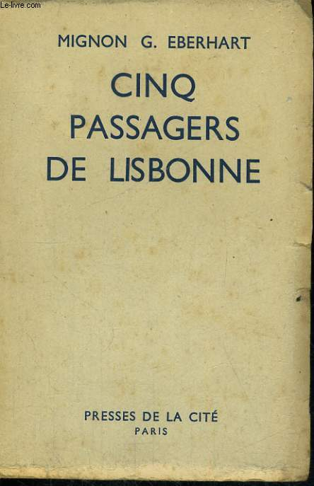 CINQ PASSAGERS DE LISBONNE