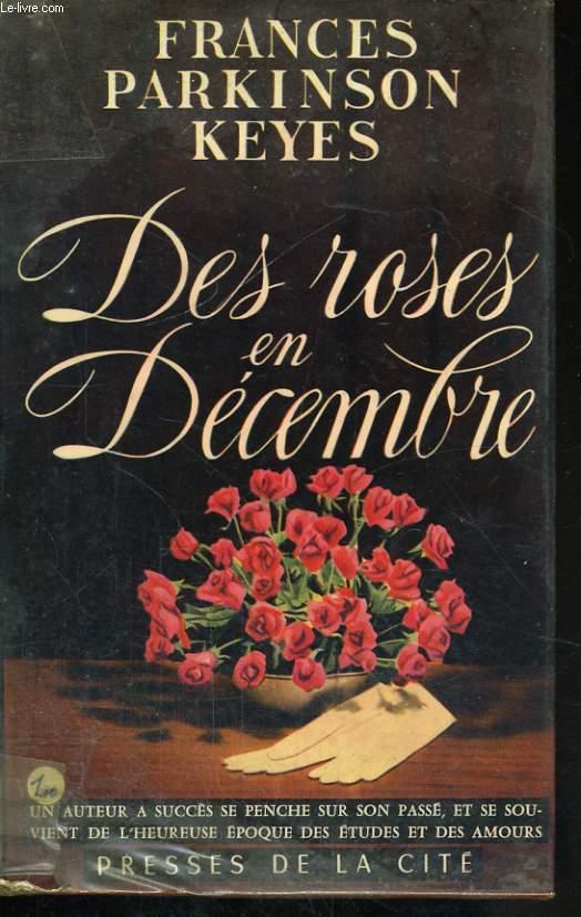 DES ROSES EN DECEMBRE