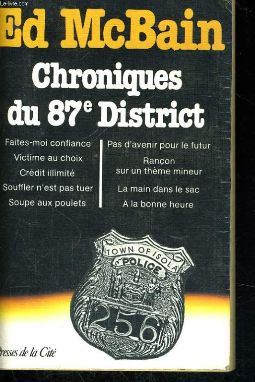 CHRONIQUES DU 87è DISTRICT