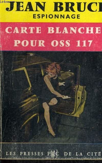 CARTE BLANCHE POUR OSS 117