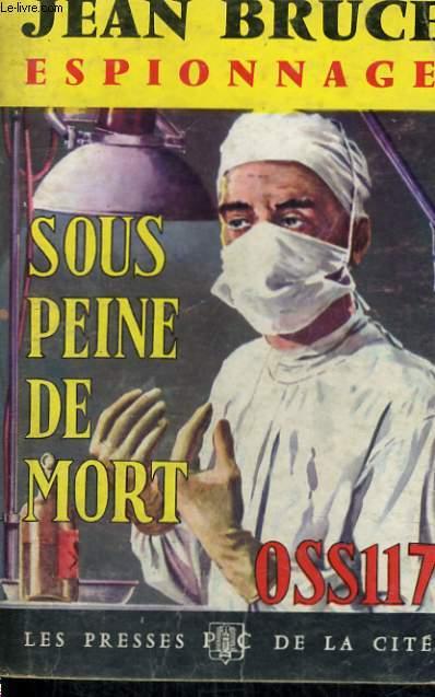 SOUS PEINE DE MORT