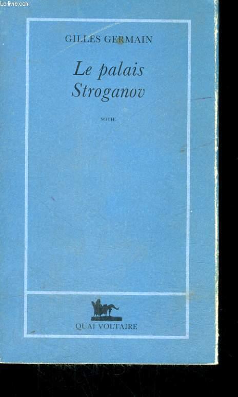 LE PALAIS STROGANOV