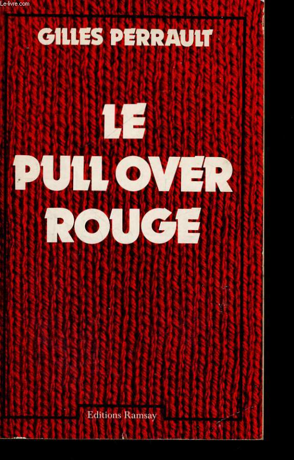 LE PULL OVER ROUGE