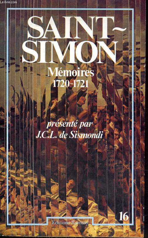 MEMOIRES, TOME  16, 1720-1721