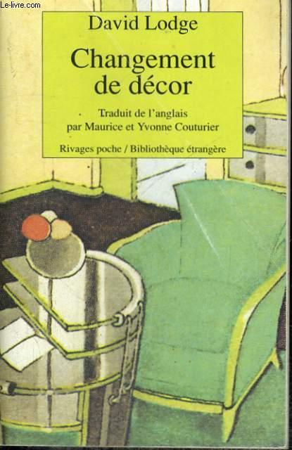 CHANGEMENT DE DECOR