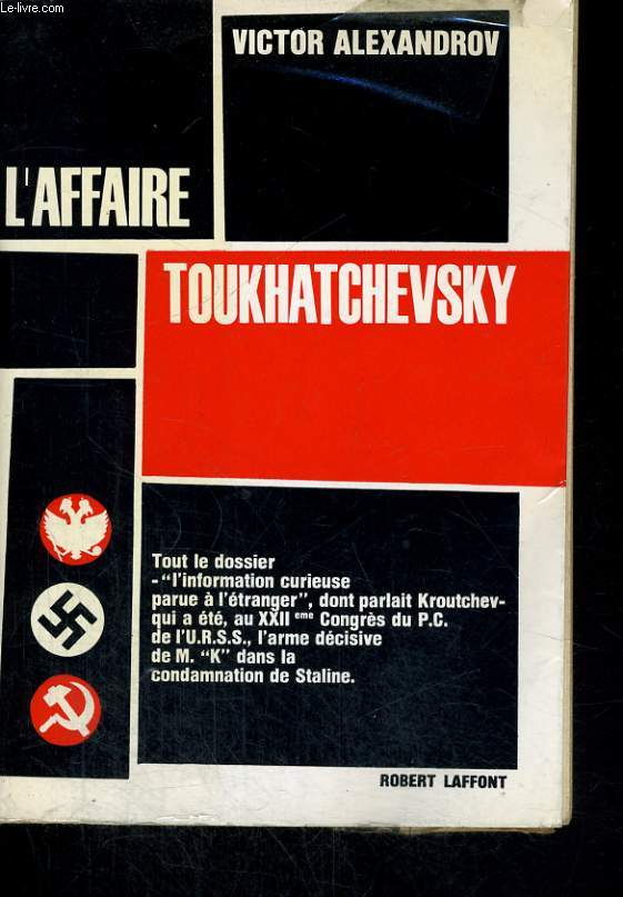 L'AFFAIRE TOUKHATCHEVSKY