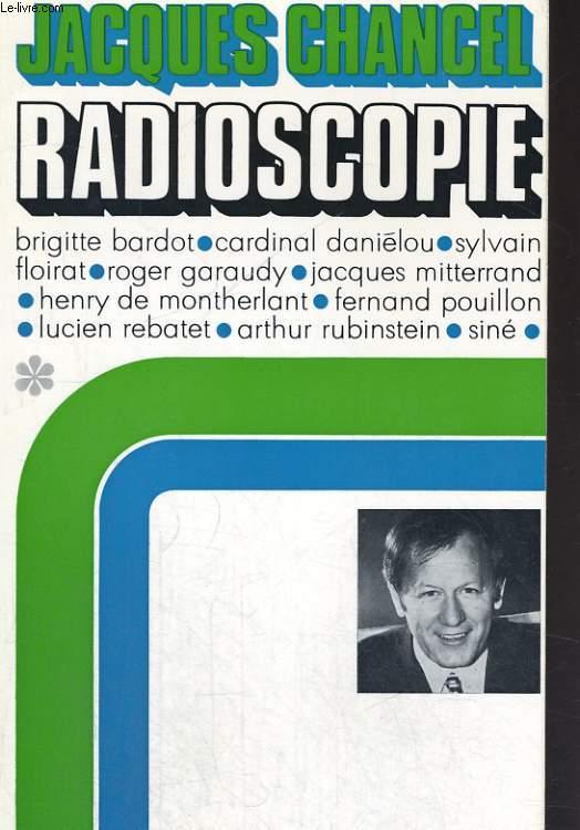 RADIOSCOPIE, 4 TOMES
