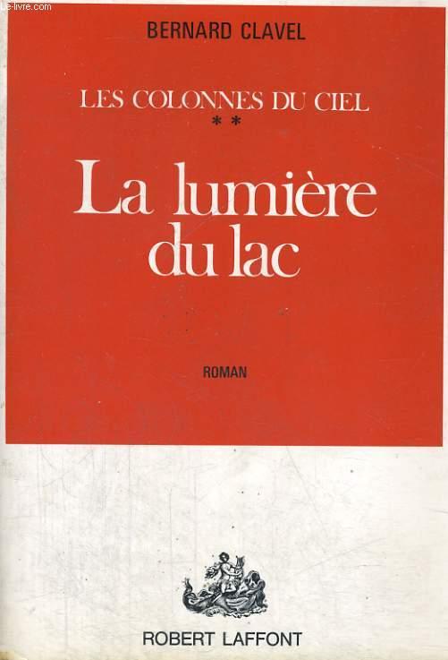 LES COLONNES DU CIEL TOME 2: LA LUMIERE DU LAC