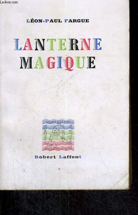 LANTERNE MAGIQUE.