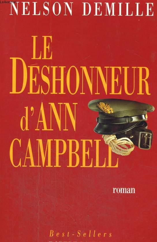 LE DESHONNEUR D'ANN CAMPBELL.