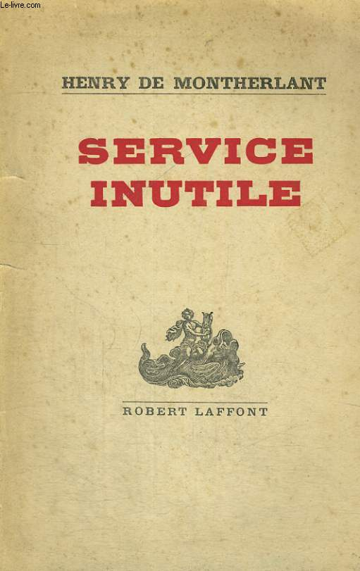 SERVICE INUTILE.