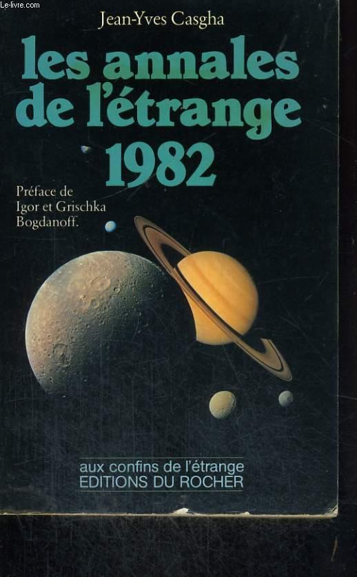 Les annales de l'étrange 1982