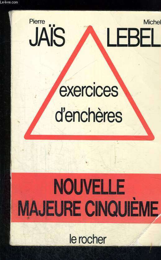 Exercices d'enchères - nouvelle majeure cinquième