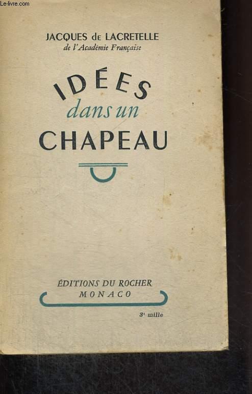Idées dans un chapeau