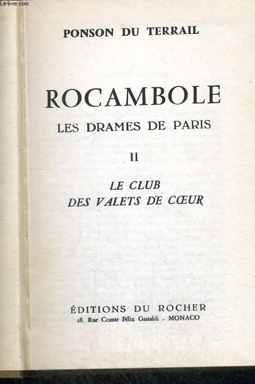 ROCAMBOLE - les drames de Paris
