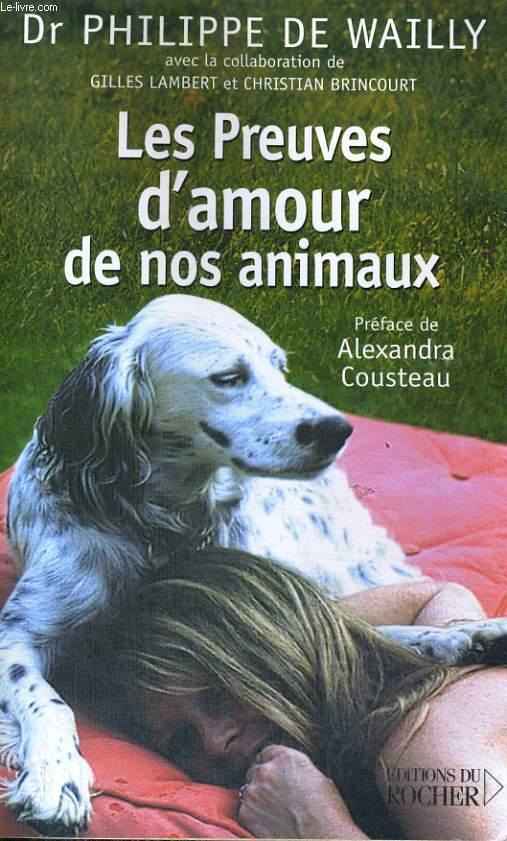 Les Preuves d'amour de nos animaux