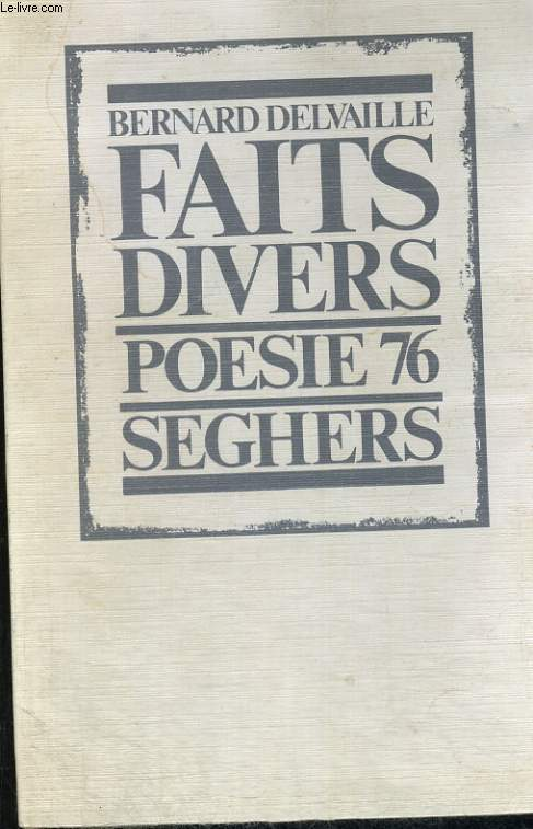 Faits divers - poésie 76