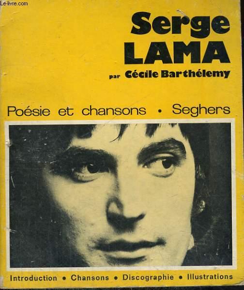 Serge LAMA - Collection poésie et chansons n° 24