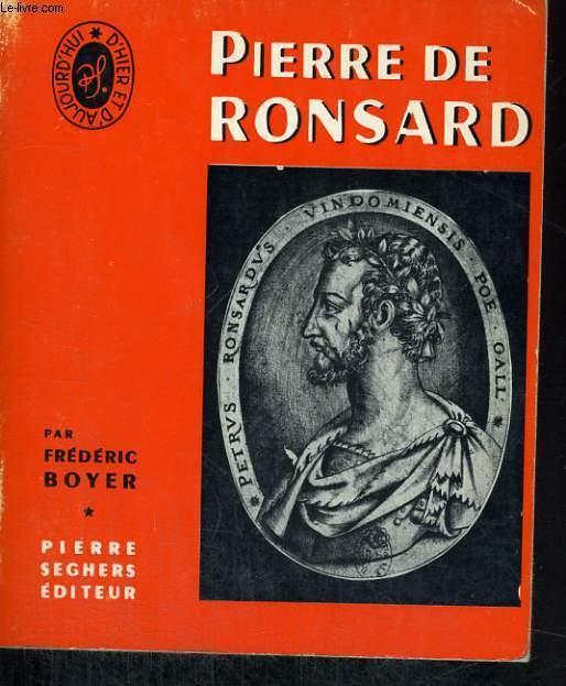 Pierre de Ronsard - Collection Poètes d'hier et d'aujourd'hui n°1