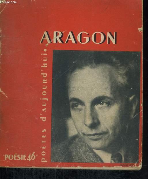 ARAGON - Collection poètes d'aujourd'hui n°2