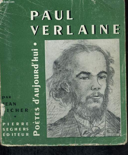 Paul Verlaine - Collection poètes d'aujourd'hui n°38