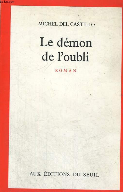 Le démon de l'oubli