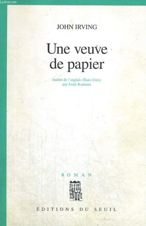 Une veuve de papier