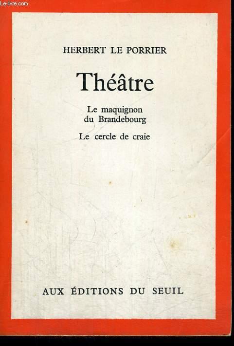 Théâtre - le maquignon du Brandebourg - le cercle de craie