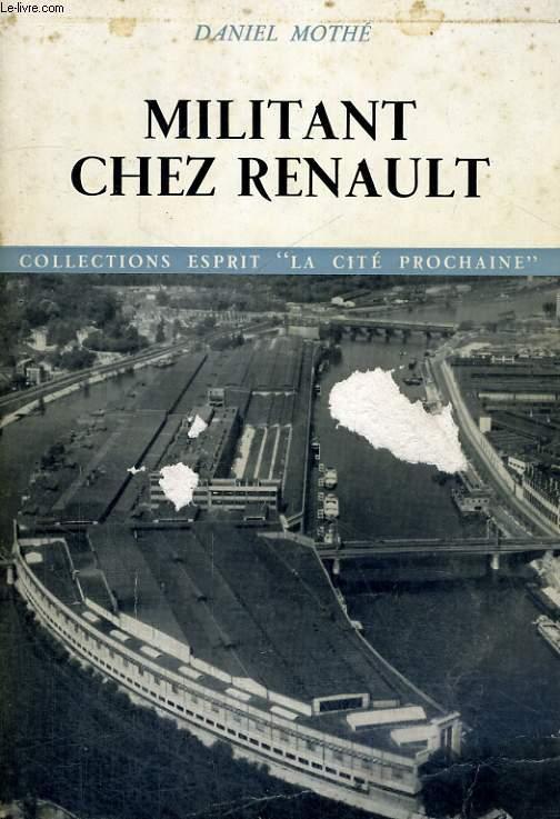 Militant chez Renault