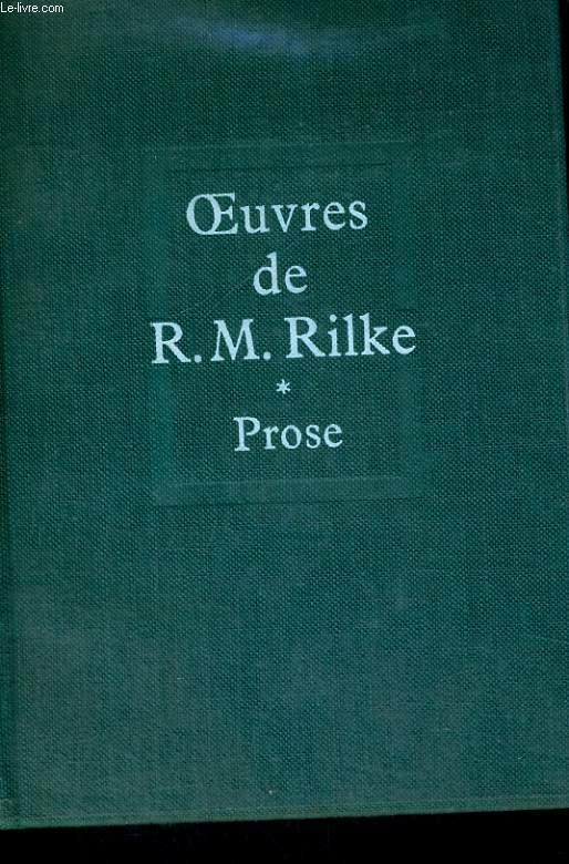 PROSE - Oeuvres I
