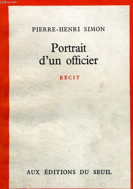 Portrait d'un officier
