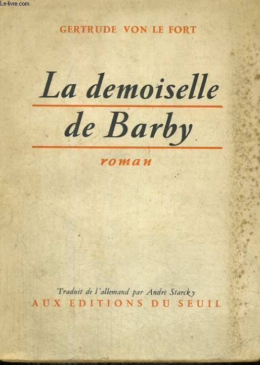 La demoiselle de Barby