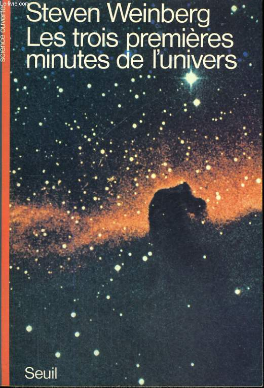 Les trois premières minutes de l'univers