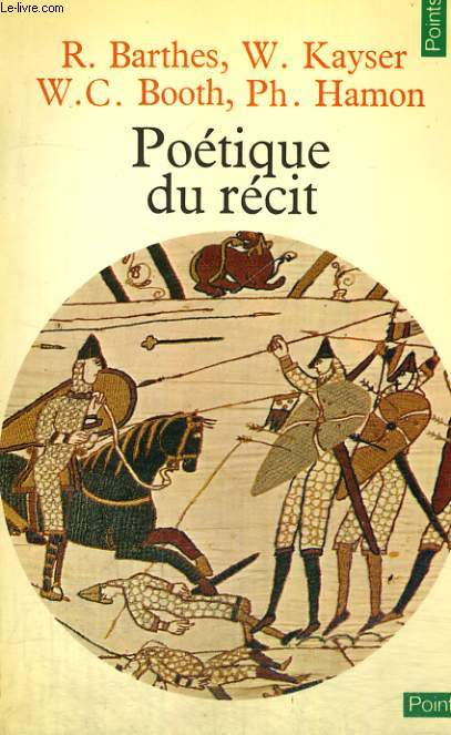 POETIQUE DU RECIT - Collection Points n 78