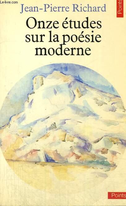 ONZE ETUDES SUR LA POESIE MODERNE - Collection Points n°131