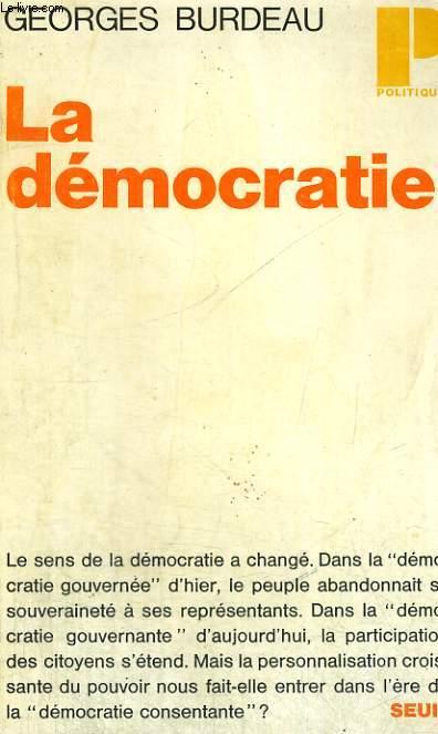LA DEMOCRATIE - Collection Politique n°1