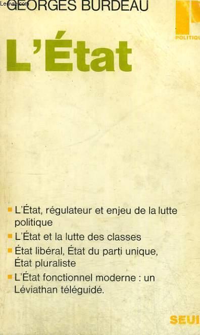 L'ETAT - Collection Politique n°35