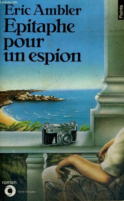 EPITAPHE POUR UN ESPION - Collection Points Roman R169
