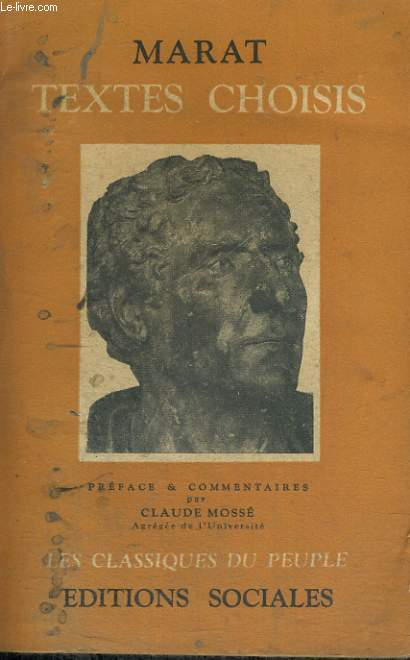TEXTES CHOISIS - Collection Les classiques du peuple