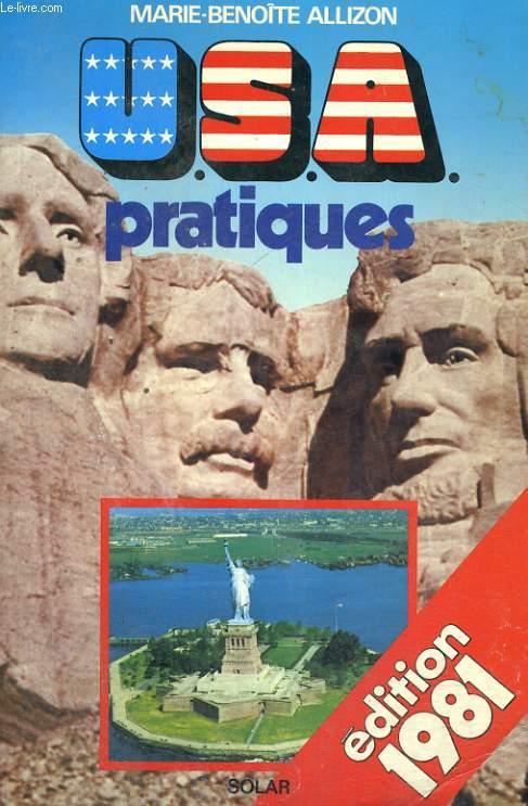 U.S.A. PRATIQUES - Edition 1981