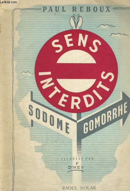 SENS INTERDITS - Sodome-Gomorrhe